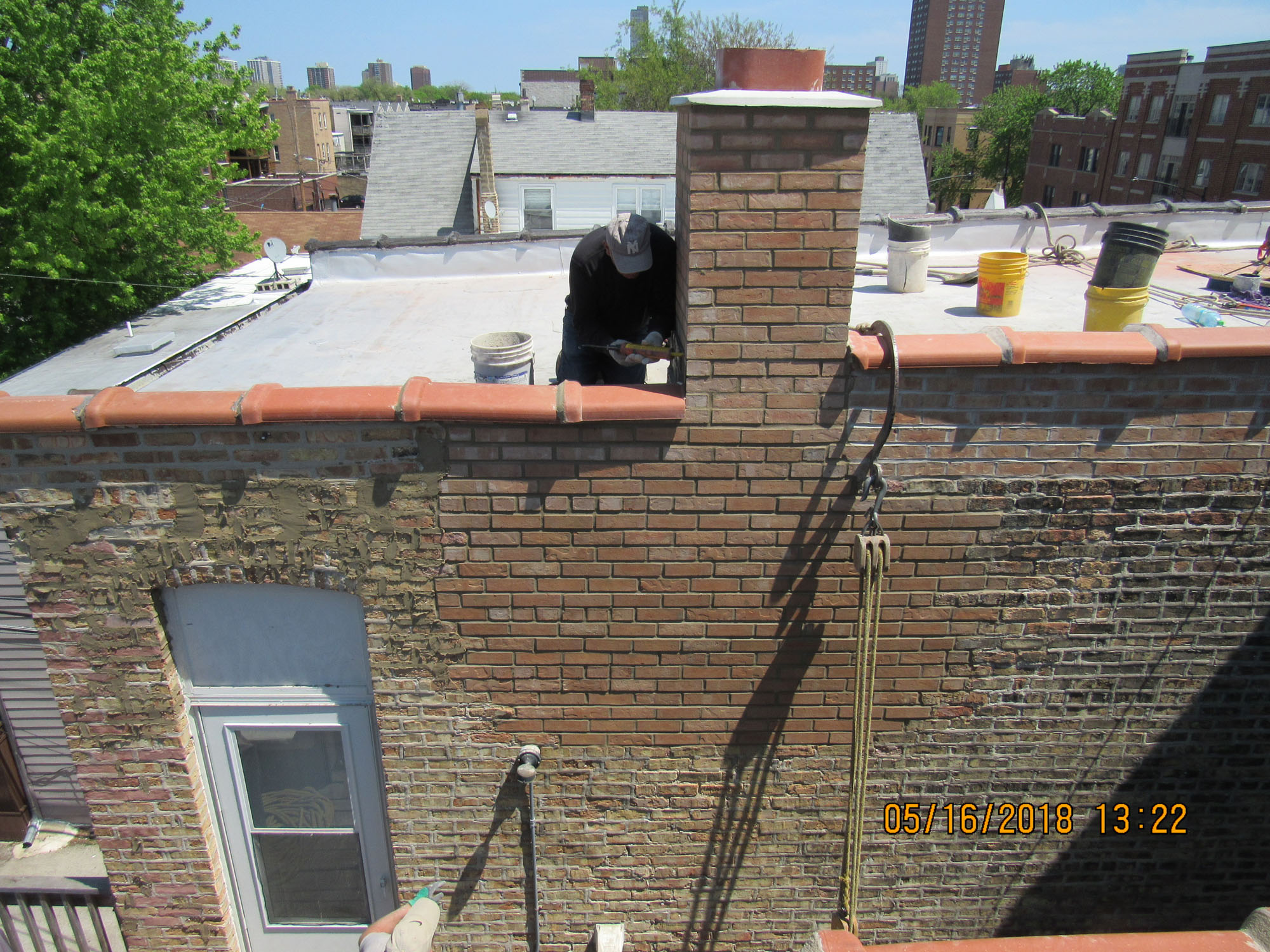 Chicago Licensed Masonry Contractor Rebuilding Repairs