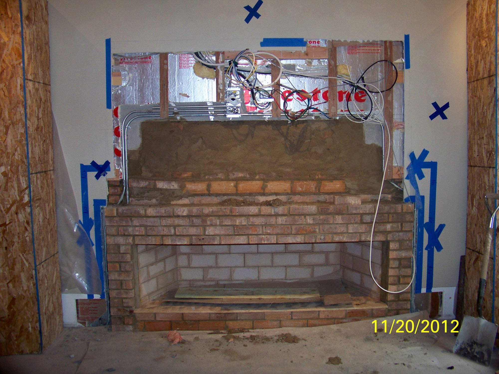 Fireplaces Masonry Repairs Or New Fireplace Chicago And