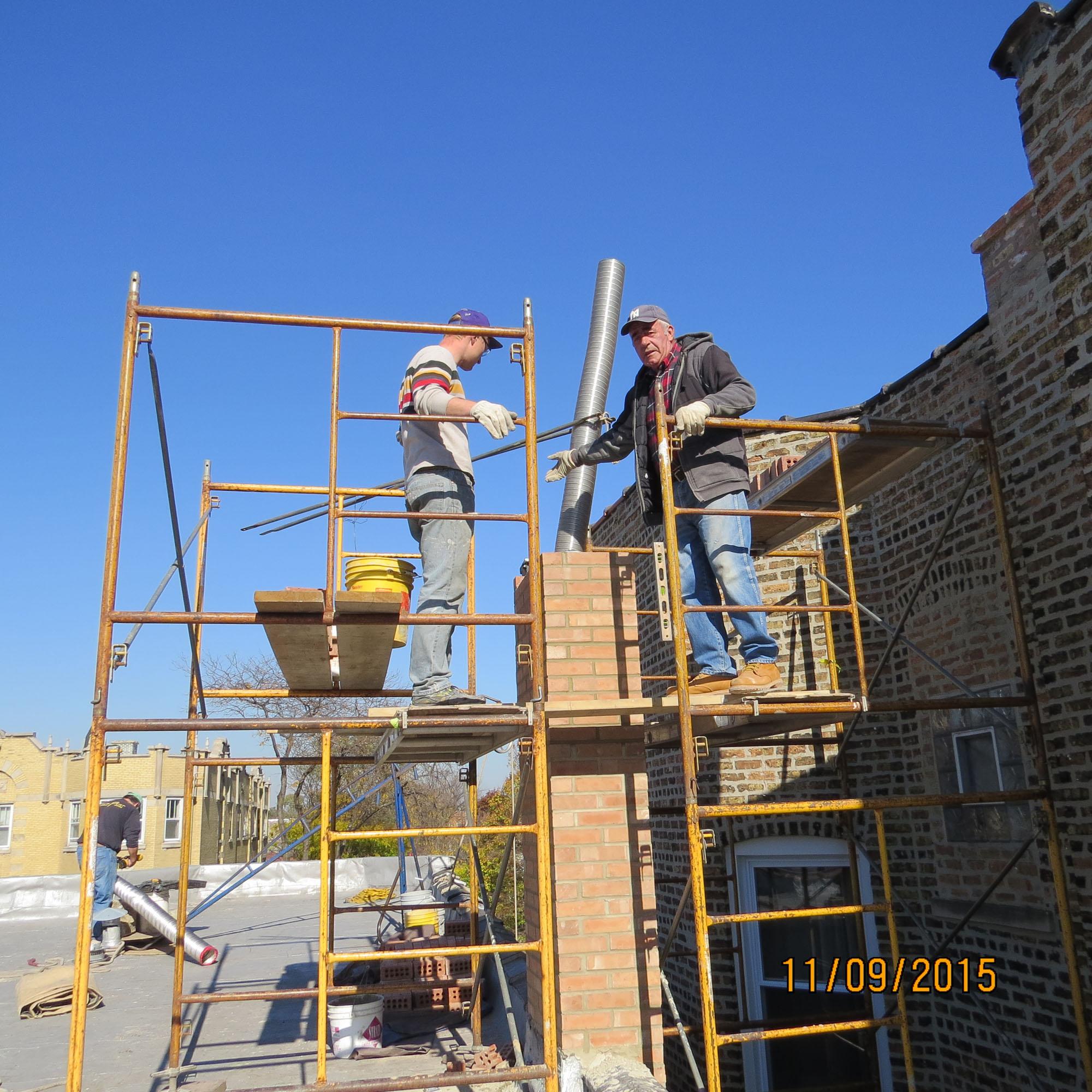 Chicago Licensed Masonry Contractor Rebuilding Repairs